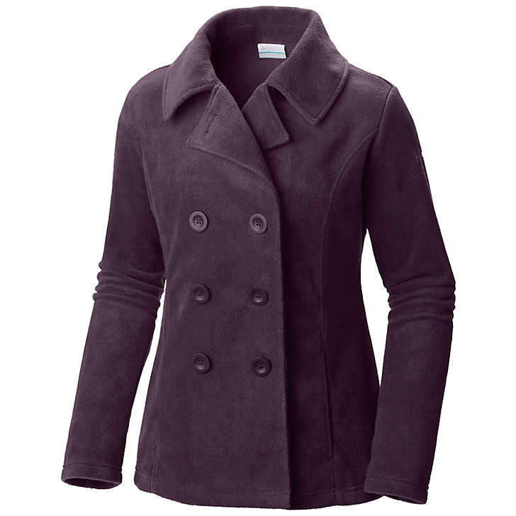 Columbia Benton Springs™ Fleece Pea Coat Bayan Mont Mor (72204PMCH)