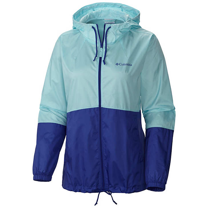 Columbia Flash Forward™ Windbreaker Bayan Mont Açık Yeşil (18816WOQU)