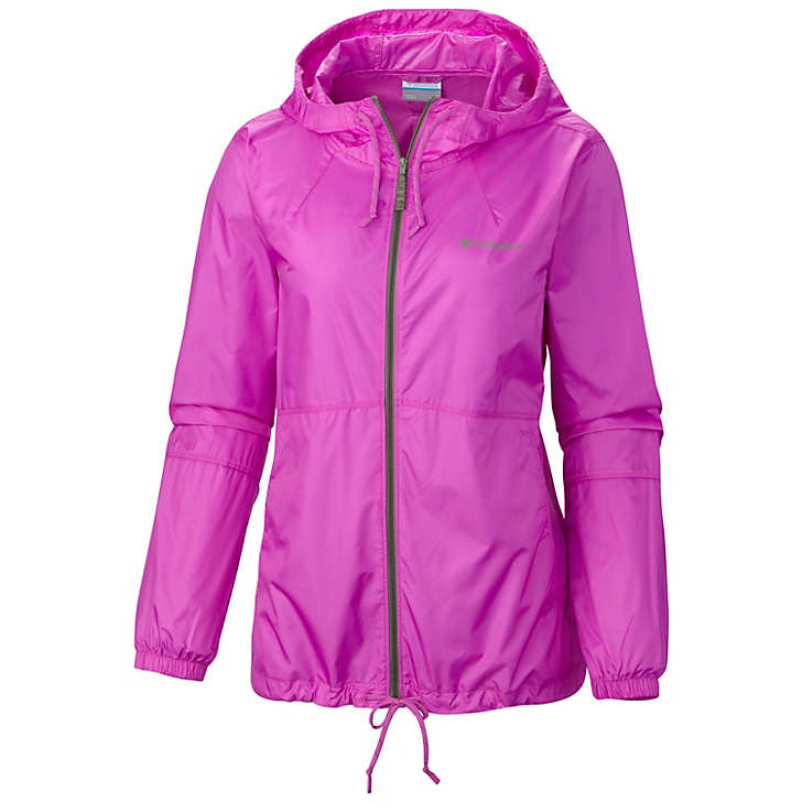 Columbia Flash Forward™ Windbreaker Bayan Mont Pembe (87607QVGH)